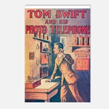 Bell Labs vs Tom Swift Postcards (Package of 8)