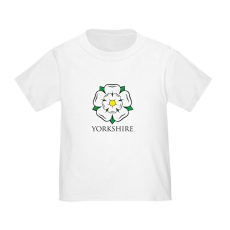 Toddlers' Yorkshire Rose t-shirt