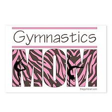 Gymnastics_Mom_Zebra_Ver1 Postcards (Package of 8)
