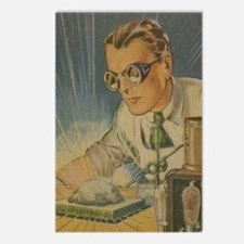 Tom Swift in the Lab Postcards (Package of 8)