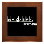 Mosaics - My Anti-Drug Framed Tile