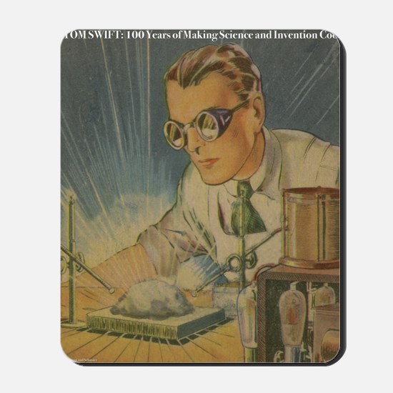 Tom Swift in the Lab Mousepad