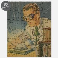 Tom Swift in the Lab Puzzle