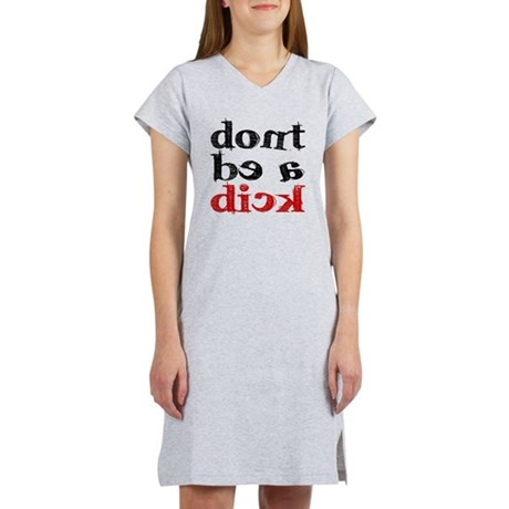 dick.gif Women's Nightshirt