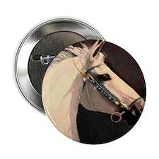 "(5)Equine Tile - Prussian 2.25"" Button"