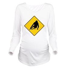 trucks_turning_3 Long Sleeve Maternity T-Shirt