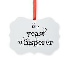 yeast whisperer 2000 black no mar Ornament