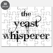 yeast whisperer 2000 black no margin Puzzle