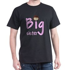 2-big sister brunette and green eyes T-Shirt
