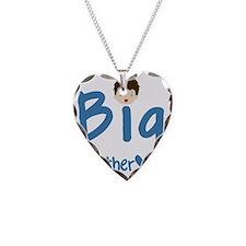 big brother brunette and blue Necklace
