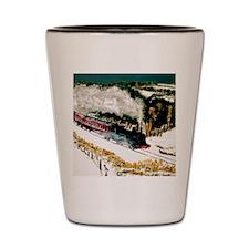 The Steam Train Shot Glass