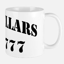 zellaars black letters Mug