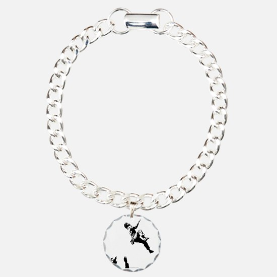 bouldererandspotters2 Charm Bracelet, One Charm
