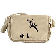 bouldererandspotters2 Messenger Bag