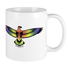 Eagle Rainbow Pride Mug