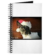 Dear Santa Rat Terrier Christmas Wishes Journal