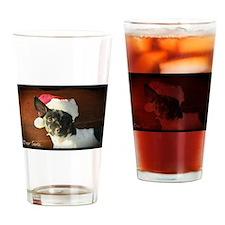 Dear Santa Rat Terrier Christmas Wishes Drinking G