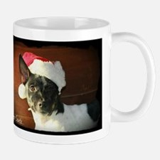 Dear Santa Rat Terrier Christmas Wishes Mugs