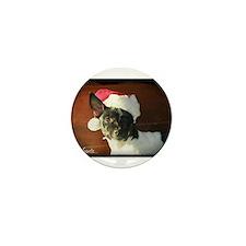 Dear Santa Rat Terrier Christmas Wishes Mini Butto