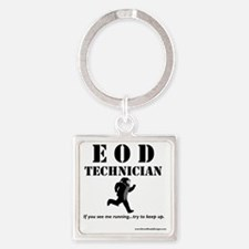 eod tech light Square Keychain