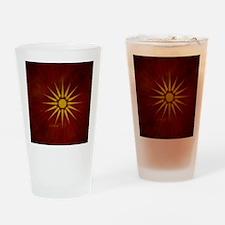 makedonsko_zname_by_dimovski Drinking Glass