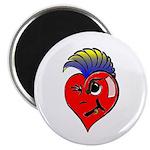 Punk Rock Heart Anti Valentine 2.25