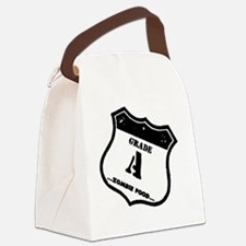 grade-a-zombie Canvas Lunch Bag