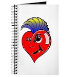 Punk Rock Heart Anti Valentine Journal