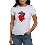 Punk Rock Heart Women's T-Shirt