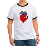 Punk Rock Heart Ringer T