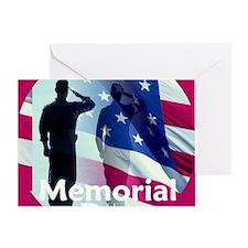 2-MemorialHonor E Greeting Card