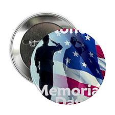 """2-MemorialHonor E 2.25"""" Button"""