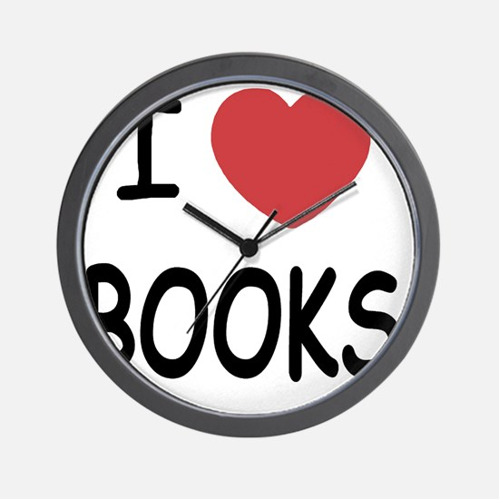 BOOKS01 Wall Clock