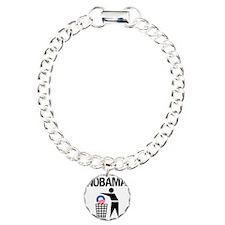 NoBama-(trash)-white-shi Bracelet