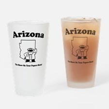 ARIZONACAFE2 Drinking Glass