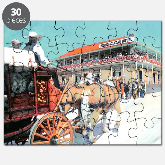 cosmopolitan hotel by RD Riccoboni Puzzle