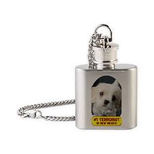 Terrorist5x2 Flask Necklace