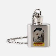 Terrorist5x2 Flask Necklace