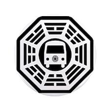 "Dharma Van 3.5"" Button"