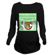 wolfe Long Sleeve Maternity T-Shirt