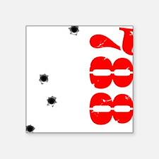 "HISS788 Square Sticker 3"" x 3"""