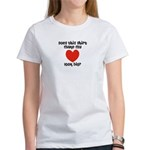 Does This Shirt Make My Heart Look Big Women's T-S