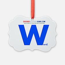 Word Ornament