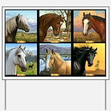 HORSE DIARIES POSTER Yard Sign