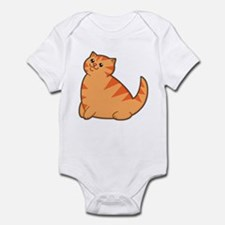 Happy Fat Orange Cat Onesie