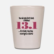 run13 Shot Glass