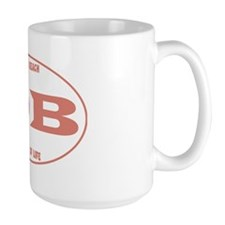 DeweyEuroOvalPinkRinger Mug