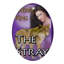 The Stray Notecard Oval Ornament