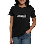Hot Glue - My Anti-Drug Women's Dark T-Shirt