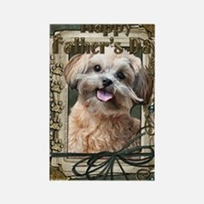 French_Quarters_ShihPoo Rectangle Magnet